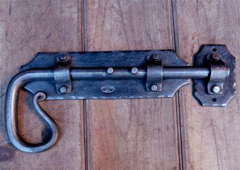 Large Door Bolt and Keeper & Door Hardware u2013 Traditional Iron Brisbane